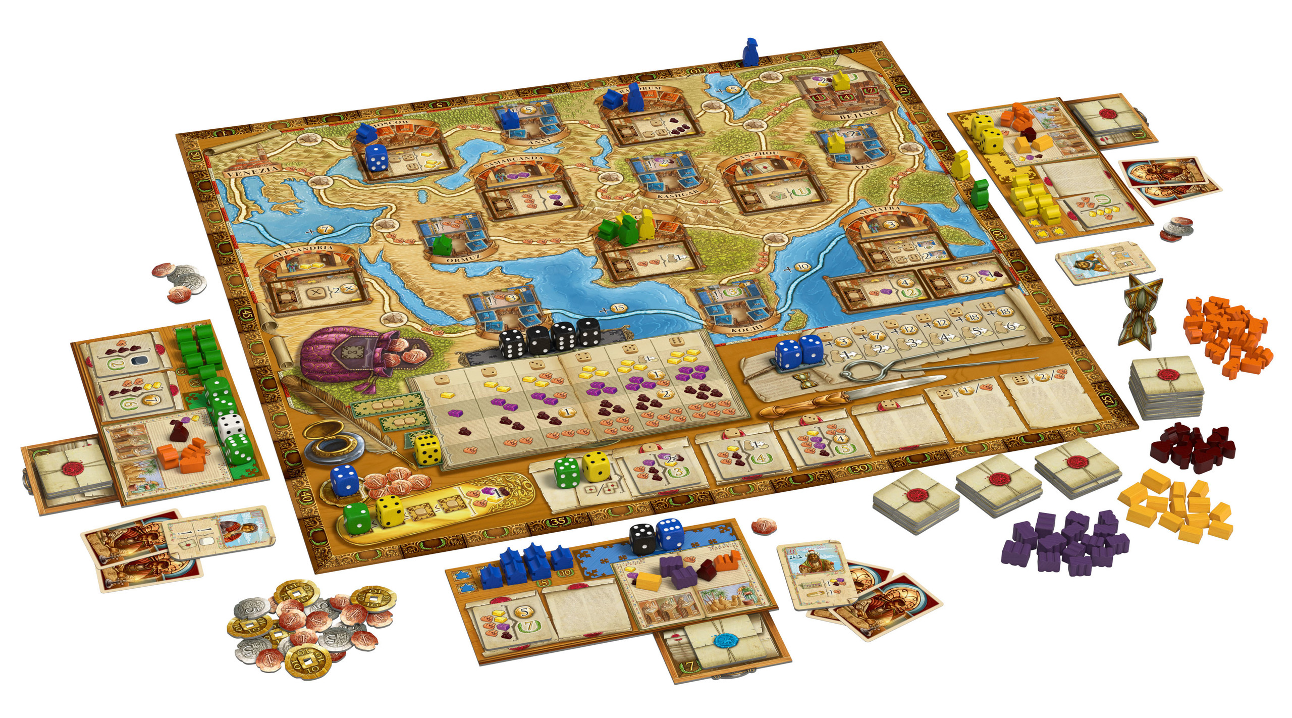 Marco Polo Spiel