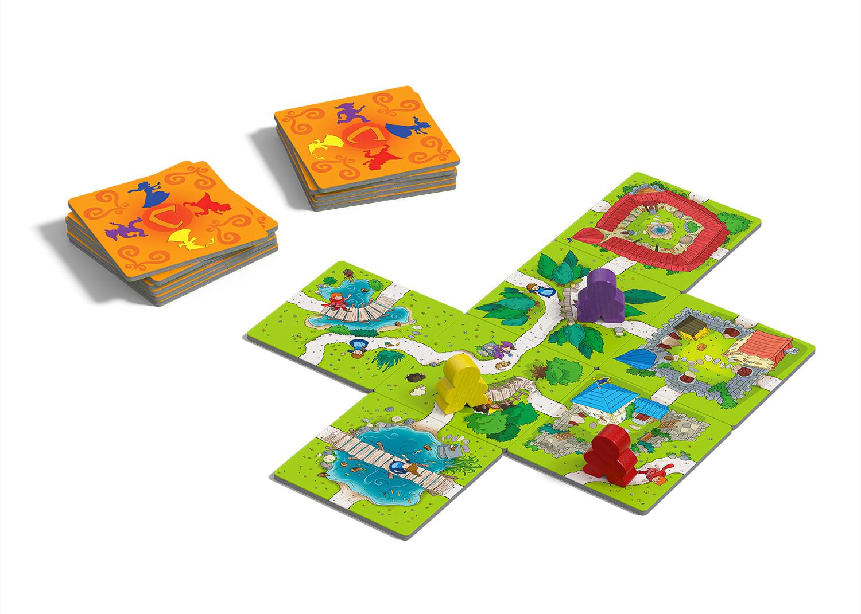 Carcassonne Junior Spielszene